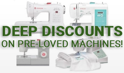 Deep Discounts on Pre-Loved Machines