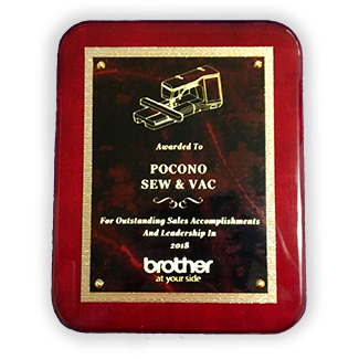 Top Dealer Award for Brother during the 2018 period