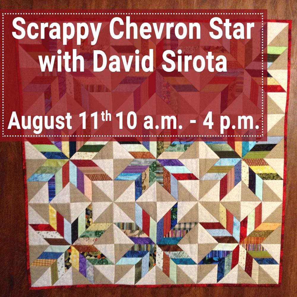 David Sirota - Scrappy Chevron Star