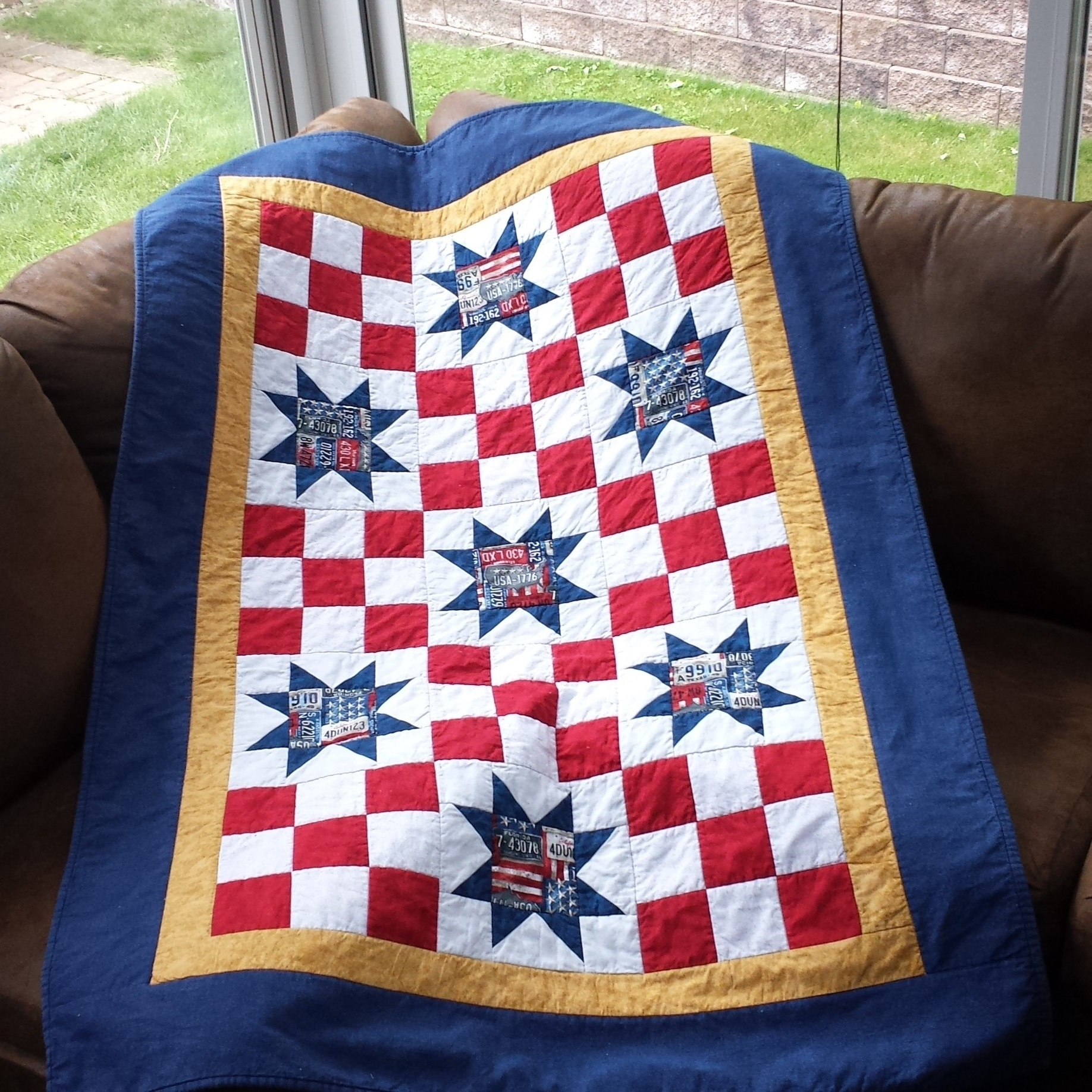 Intermediate Stars and Nine Patch Quilt