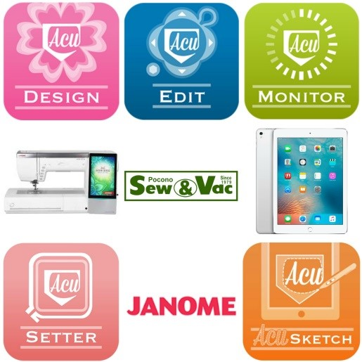 Janome Apps for MC15000 and Skyline S9