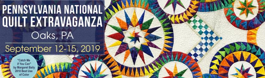 Pennsylvania National Quilt Extravaganza XXIV