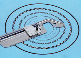 circular sewing attachment
