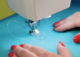 Free-Flow Sewing