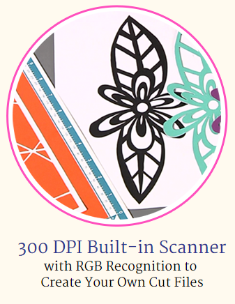 300 DPI Built-in Scanner