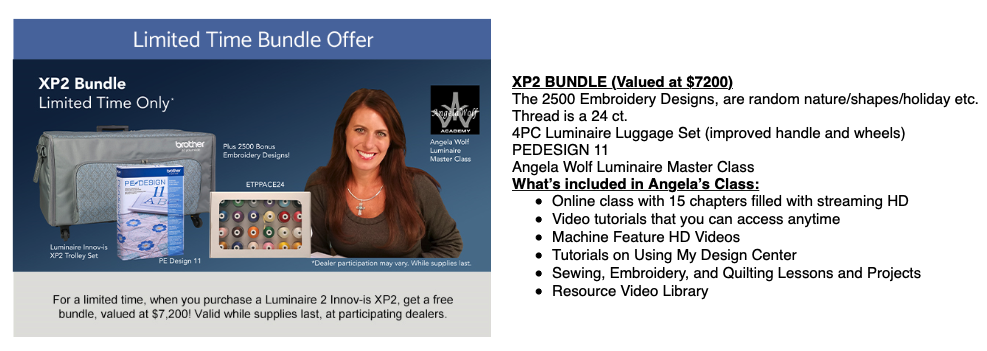 Limited Time Bundle offer