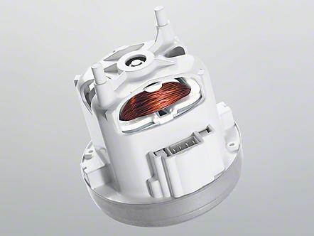Schematic of vacuum motor