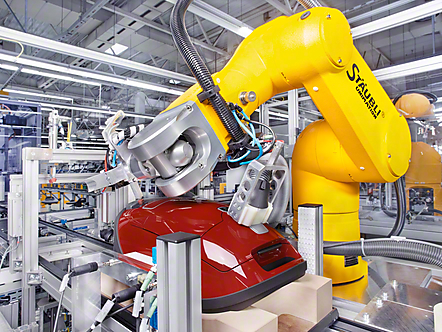Quality assurance inside Miele factory