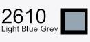 Aurifil Cotton 50wt - 1425 yds - Light Blue Grey