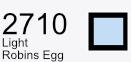 Aurifil Cotton 50wt - 1425 yds - Light Robins Egg