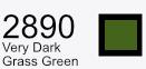 Aurifil Cotton 50wt - 1425 yds - Very Dark Grass Green
