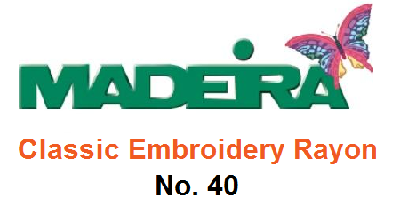 Madeira Classic Embroidery Rayon No. 40