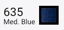 Superior Threads Bottom Line - 635 Medium Blue - 1,420 yd. Spool.