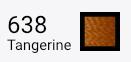 Superior Threads Bottom Line - 638 Tangerine - 1,420 yd. Spool.