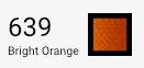 Superior Threads Bottom Line - 639 Bright Orange - 1,420 yd. Spool.